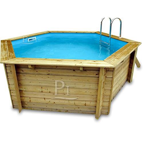 holzpool pool aus holz als komplettset oder mit. Black Bedroom Furniture Sets. Home Design Ideas