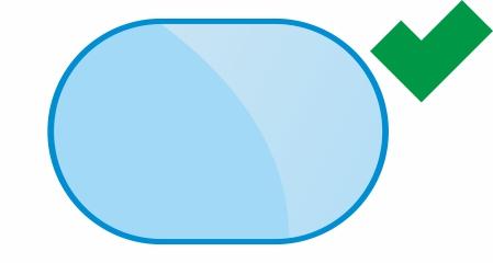 Stahlwandpool Form Oval