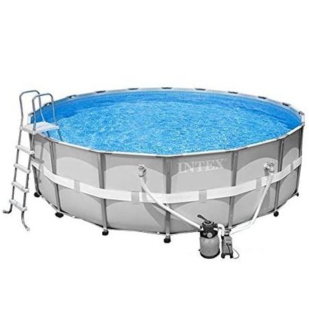 Rund Frame Pool mit Sandfilteranalge