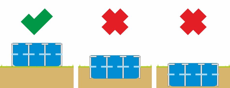Frame Pool Aufbaumöglichkeiten