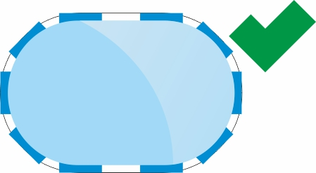 Quic Up Pool Form Oval