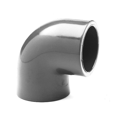 PVC Winkel 90 Grad 50 mm für Pool Verrohrung