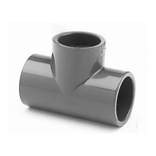 PVC T Stück 50 mm für Pool Verrohrung