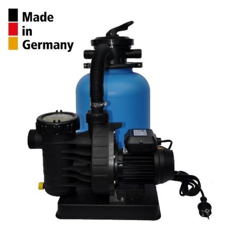 Sandfilteranlage BL Ø300mm mit Aqua Plus 8m³/h PoolsBest