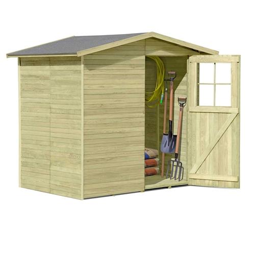 Gartenhaus für Pool Solarheizung aus EPDM
